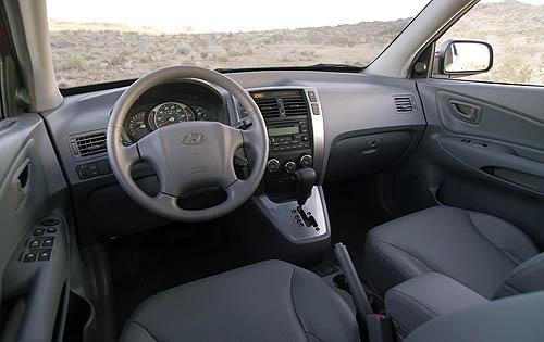 Car Guese Hyundai Tucson Interior