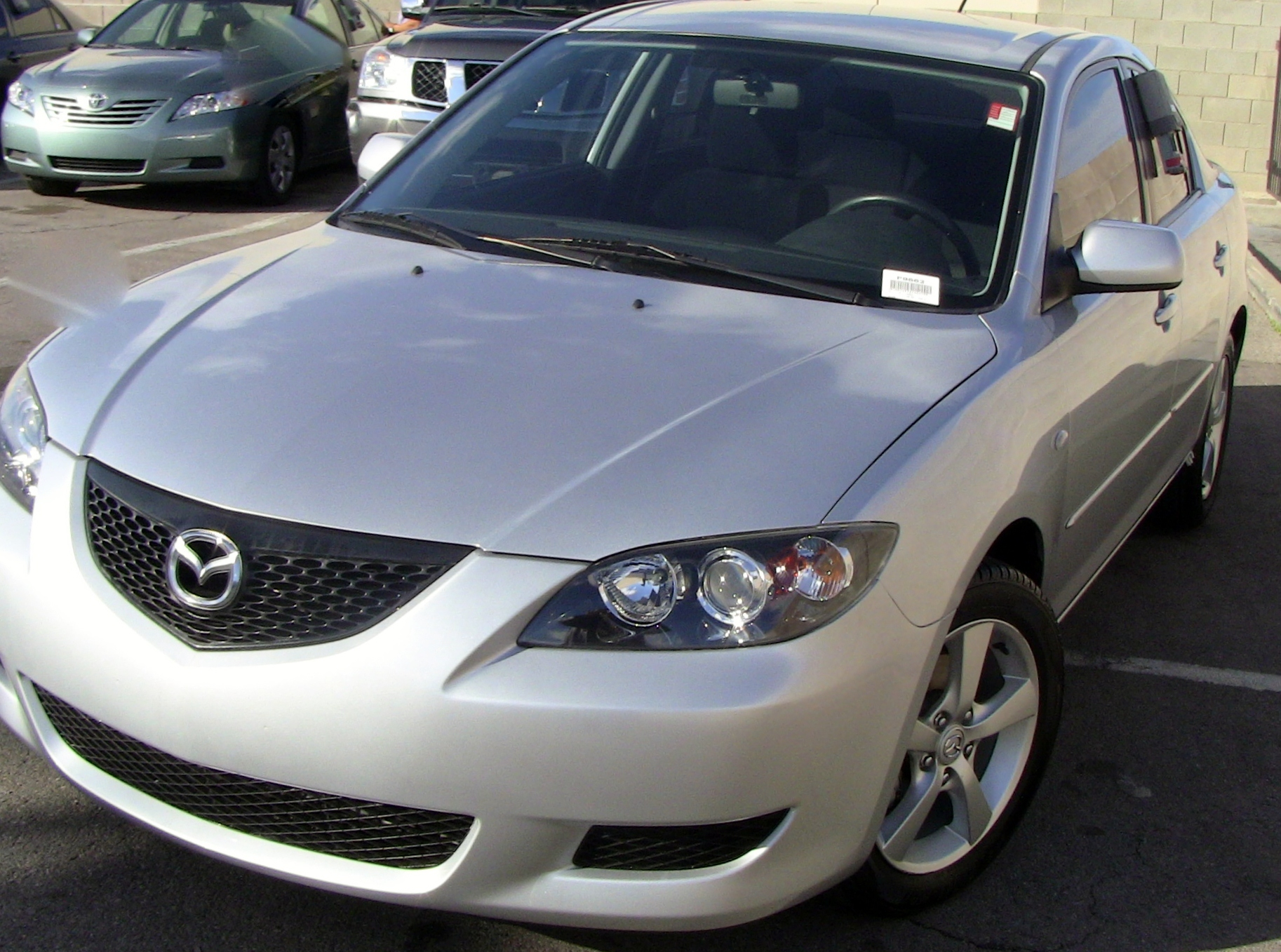 2006 mazda 3 i touring for sale las vegas mycarlady. Black Bedroom Furniture Sets. Home Design Ideas